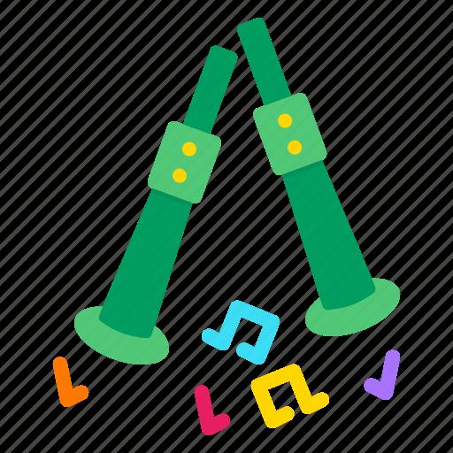 Ceilidh, day, festival, irish, music, patricks, saint icon - Download on Iconfinder