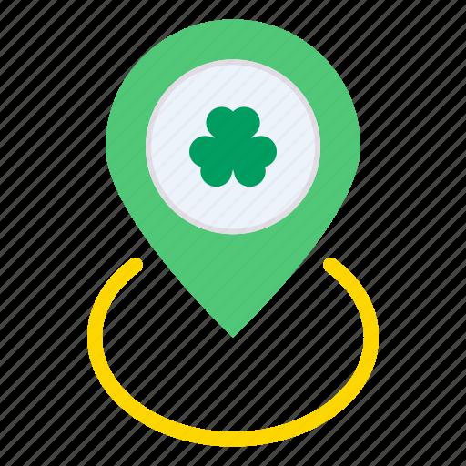 Day, festival, location, marker, patricks, saint, spot icon - Download on Iconfinder