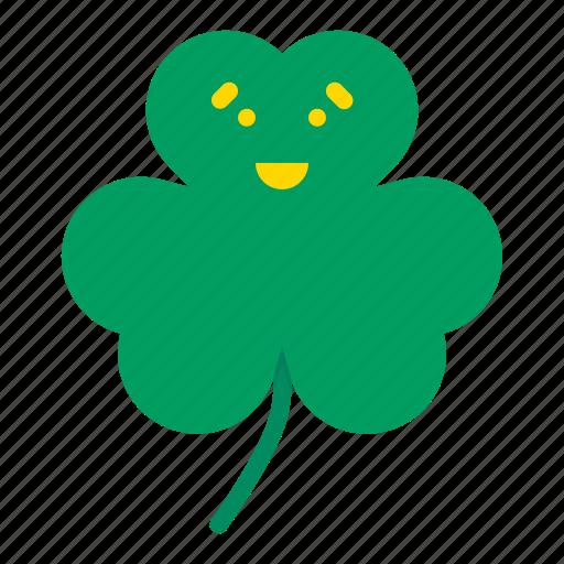 Clover, day, festival, patricks, saint, shamrock, three icon - Download on Iconfinder