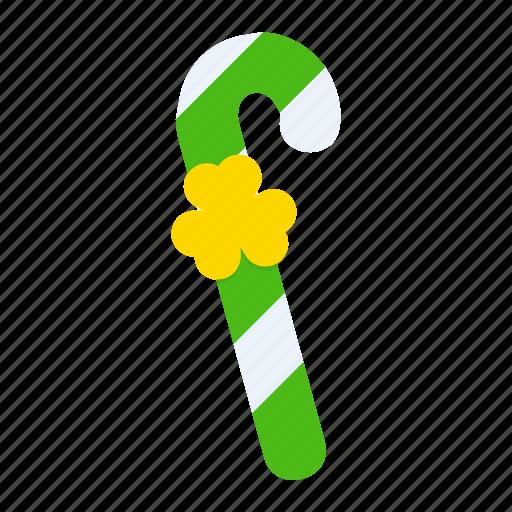 cane, day, leprechaun, patricks, saint, stick, walking icon