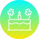 cake, celebrate, day, festival, patricks, saint, sweet icon