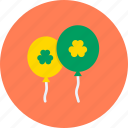 balloon, celebrate, day, festival, irish, patricks, saint icon
