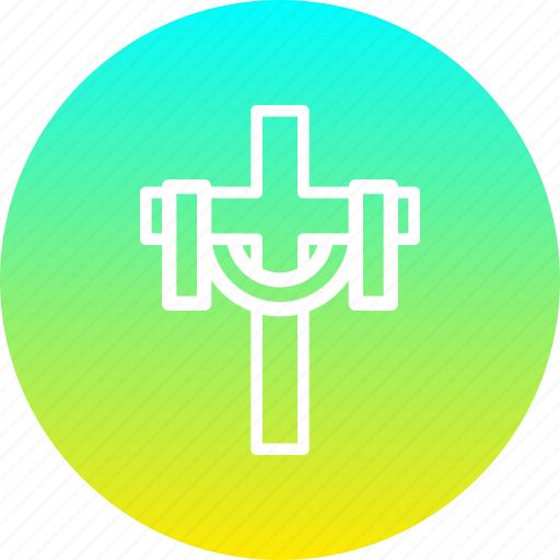christ, christian, cross, easter, holy, post, tradition icon