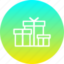 birthday, box, christmas, gift, gifts, present, presentation icon