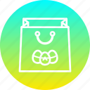 bag, easter, festival, holiday, purchase, shopping icon