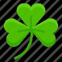 clover, ireland, irish, leaf, saint patrick, shamrock icon