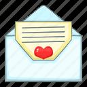 envelope, letter, love, romance