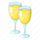 glasses, love, party, wedding icon
