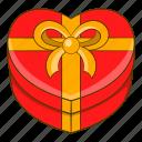 box, gift, love, valentines