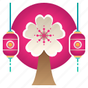 blossom, cherry, decoration, festival, flower, sakura, sakura tree icon