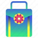 blossom, cherry, festival, flower, luggage, sakura, suitcase icon