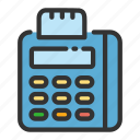 credit, edc, electronic, online, payment, sales, shop icon