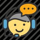 customer, online, sales, service, shop, talking