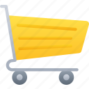 cyber monday, sales, shopping, trolley icon