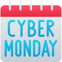 black friday, calendar, cyber, cyber monday, date, monday, sales