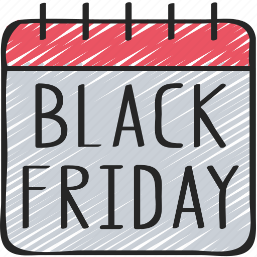 Black Friday Calendar Cyber Monday Date Friday Sales Icon Download On Iconfinder