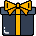 black friday, cyber monday, gift, present, sales icon