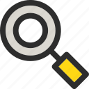 explore, find, magnifier, magnifying, search, zoom icon