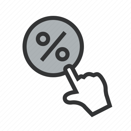 calculate, discount, fee, flexible, get, interest, loan, mortgage, percent, rate, tax, tax free icon