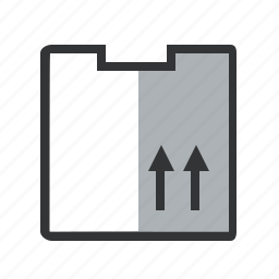 box, courier, delivery, logistical, logistics, moving box, package, post office, transportation icon