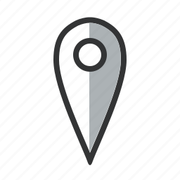 delivery, geozone, location, map, navigation, pin, route, trip icon