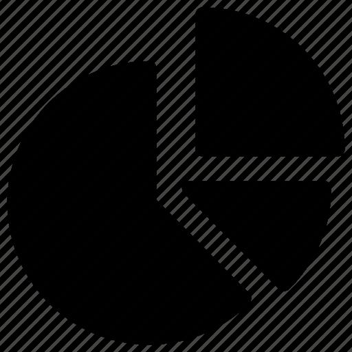 analytics, chart, diagram, graph, pie, report icon