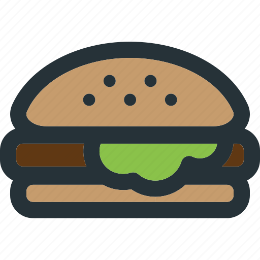 Burger, cheese, food, meal, hamburger, eat, restaurant icon