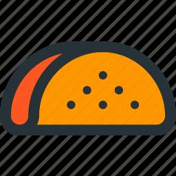 eat, fastfood, food, meal, mexico, taco, take icon