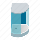 bath, bathroom, cabin, doors, isometric, shower, showering icon