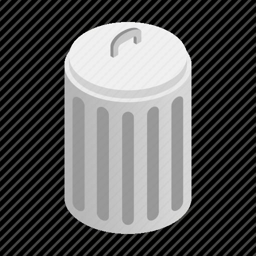basket, bin, bucket, cap, trash, tub, urn icon