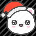arctic, avatar, bear, christmas, cute, pity, polar