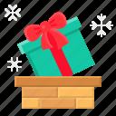 chimney, christmas, gift, gift box, santa, xmas