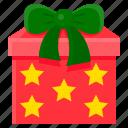 christmas, gift box, present, santa, xmas