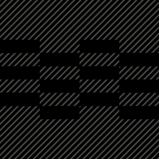 alternate, block, checkered, creative, grid, sardinia, sea icon