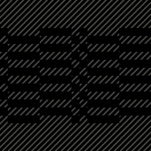 alternate, checkered, creative, grid, line, sardinia, wave icon