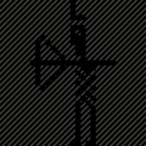 arc, arrow, hunter, sardinia, survival, tribal, warrior icon