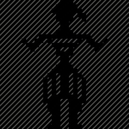 dancer, human, male, man, people, sardinia, warrior icon