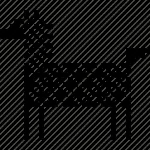 animal, donkey, horse, nature, race, sardinia, tourism icon