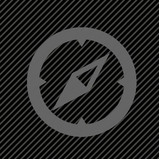 arrow, compass, direction, location, navigation icon