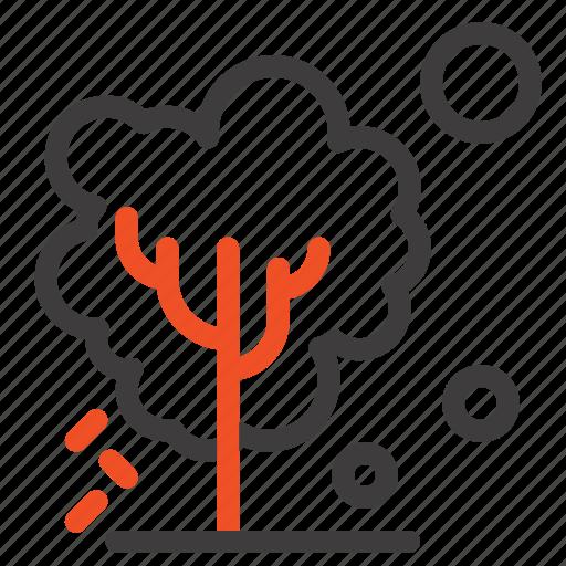 dry, global, soil, tree, warming icon