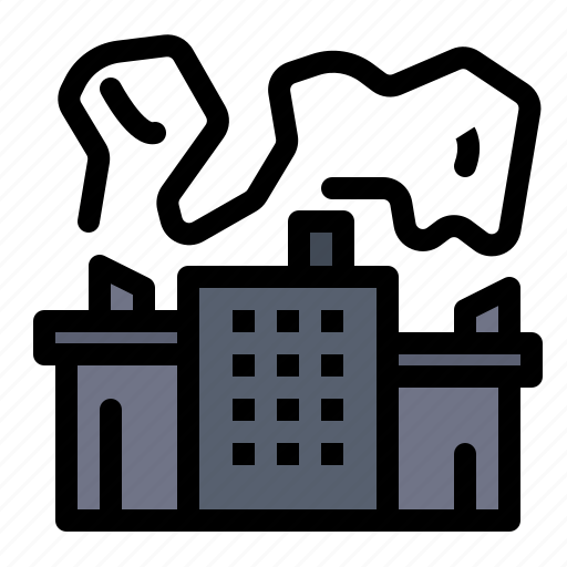 Factory, industry, nuclear, power icon - Download on Iconfinder