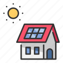 cell, ecology, energy, house, power, solar, sun