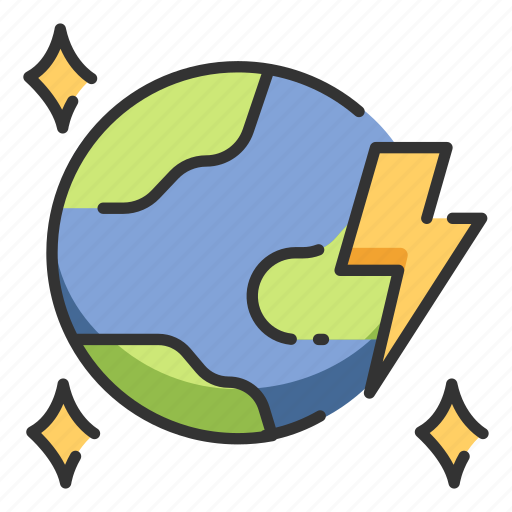 Earth, energy, global, globe, technology, world icon - Download on Iconfinder