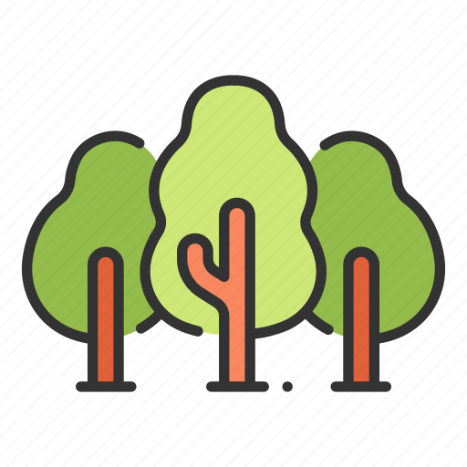 Forest, natural, nature, park, tree, wood icon - Download on Iconfinder