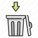 bin, ecology, environment, garbage, trash, waste