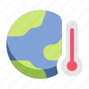 environment, ecology, earth, hot, heat, warming, global icon