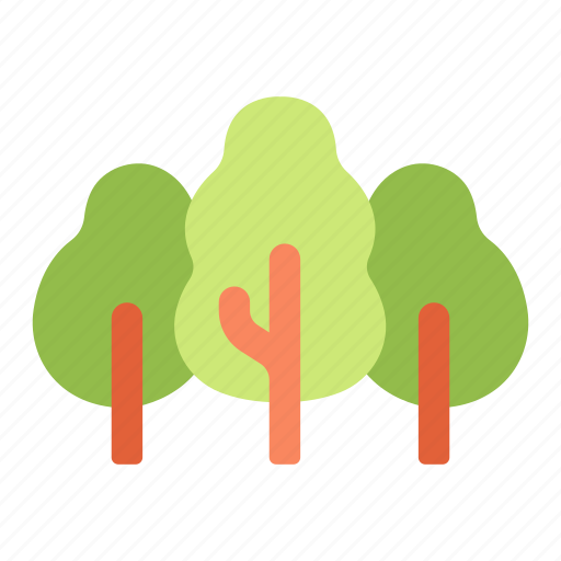 forest, natural, nature, park, tree, wood icon