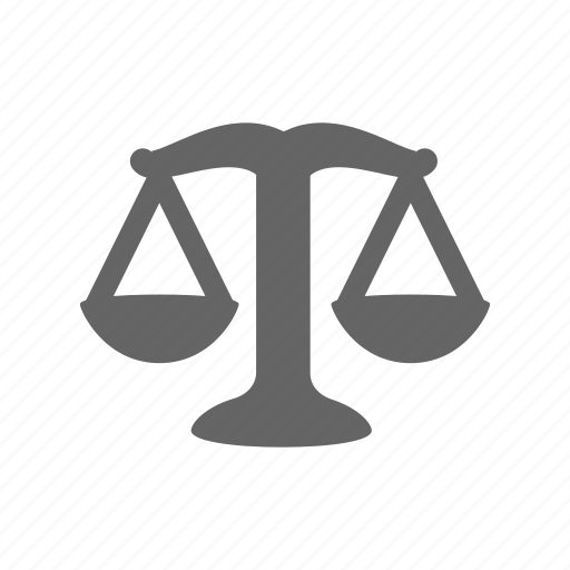 balance, instrument, judgment, law, measure, measurement, weight scale icon