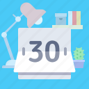 calendar, counter icon