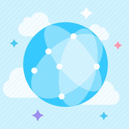 internet, network, neural, online icon